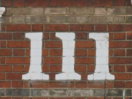 Ipswich Historic Lettering: 111 Bramford Rd 3