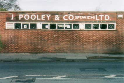 Ipswich Historic Lettering: Pooley 1a