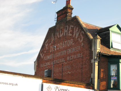 Ipswich Historic Lettering: Andrews 2