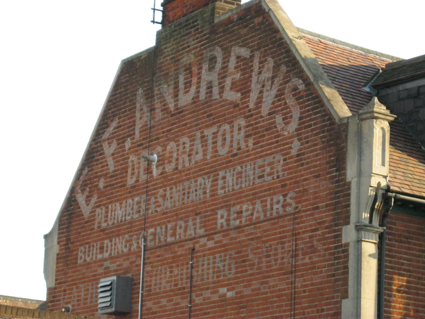 Ipswich Historic Lettering: Andrews 4