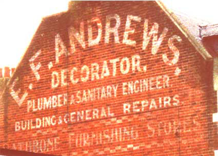 Ipswich Historic Lettering: Andrews 9