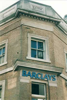 Ipswich Historic Lettering: Barclays Prince's Street 2