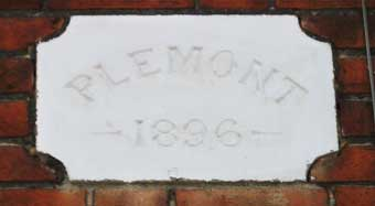 Ipswich Historic Lettering: Belle Vue plaque 12