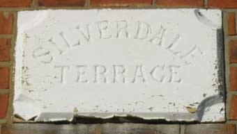 Ipswich Historic Lettering: Belle Vue plaque 2