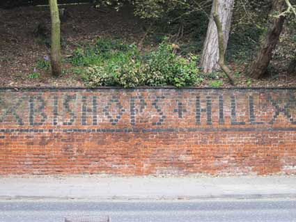 Ipswich Historic Lettering: Bishop's Hill 5