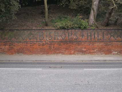 Ipswich Historic Lettering: Bishops Hill 6