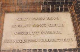 Ipswich Lettering: Bluecoat School
