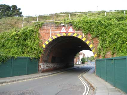 Ipswich Historic Lettering: Bramford Lane Bridge 1