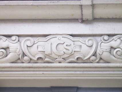 Ipswich Lettering: Cabman's shelter 5