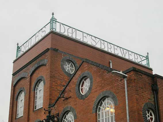 Ipswich Historic Lettering: Cambridge Dales Brewery 3