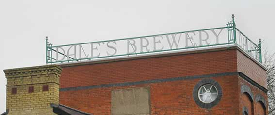 Ipswich Historic Lettering: Cambridge Dales Brewery 5