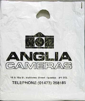 Ipswich Historic Lettering: Anglia Cameras carrier
