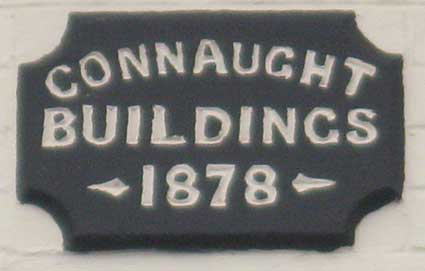 Ipswich Historic Lettering: Connaught Buildings 2