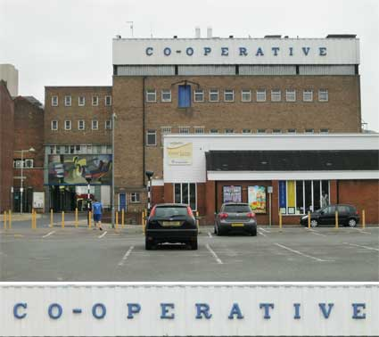 Ipswich Historic Lettering: Co-op Cox Lane