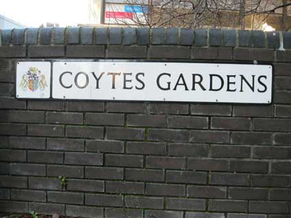Ipswich Historic Lettering: Coytes 4
