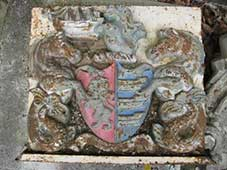 Ipswich Historic Lettering: Christchurch crest small