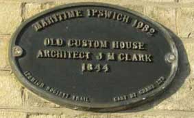 Ipswich Historic Lettering: Custom House 9 small