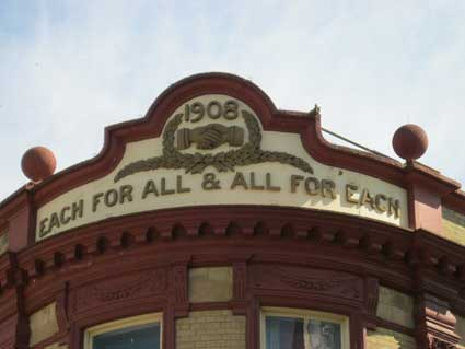 Ipswich Historic Lettering: Each For All 2011
