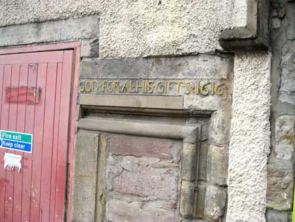 Ipswich Historic Lettering: Edinburgh 31