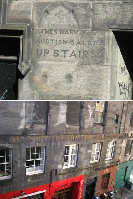 Ipswich Historic Lettering: Edinburgh 35