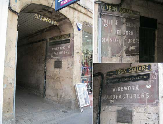 Ipswich Historic Lettering: Edinburgh 4