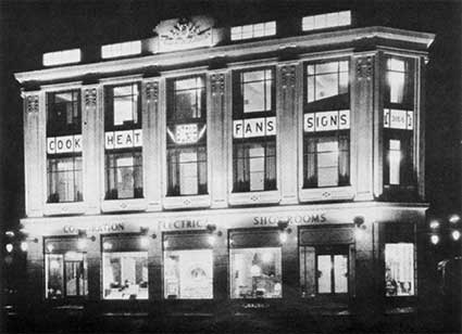 Ipswich Historic Lettering: Electric House 1939