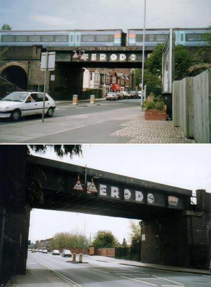Ipswich Historic Lettering: Ferodo bridge 1