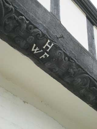 Ipswich Historic Lettering: Isaac Lord house HWF