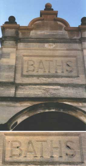 Ipswich Historic Lettering: Fore Street Baths 2