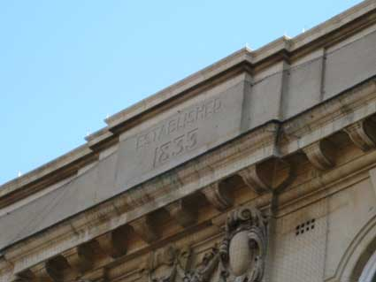Ipswich Historic Lettering: Frasers 1