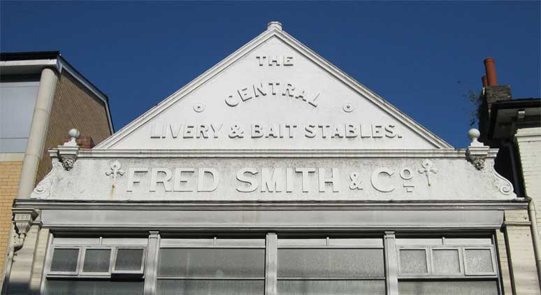 Ipswich Historic Lettering: Fred Smith 3