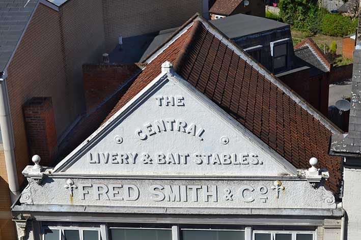 Ipswich Historic Lettering: Fred Smith 2016