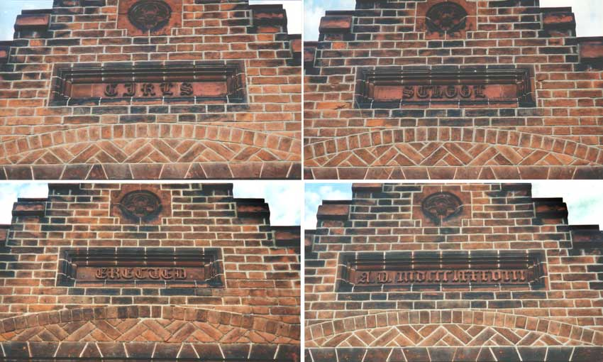 Ipswich Historic Lettering: Gatacre Road school 11