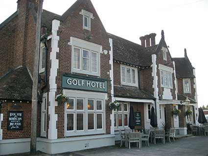 Ipswich Historic Lettering: The Golf Hotel 2