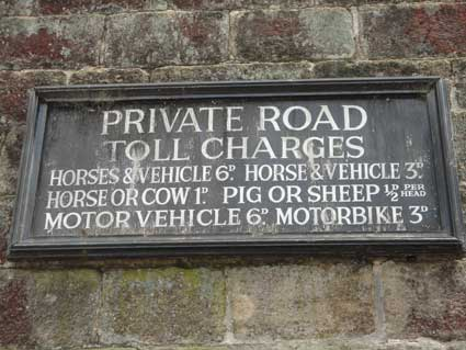 Ipswich Historic Lettering: Hardcastle Crags