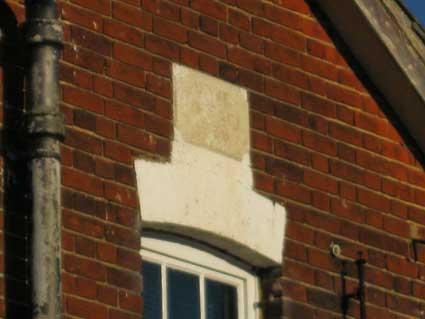 Ipswich Historic Lettering: Home Cottage 1