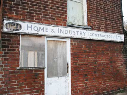 Ipswich Historic Lettering: Home & Industry 1