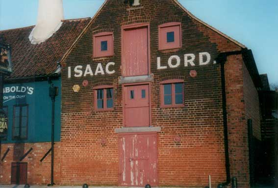 Ipswich Historic Lettering: Isaac Lord 2000