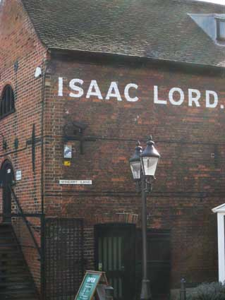 Ipswich Historic Lettering: Isaac Lord 2014