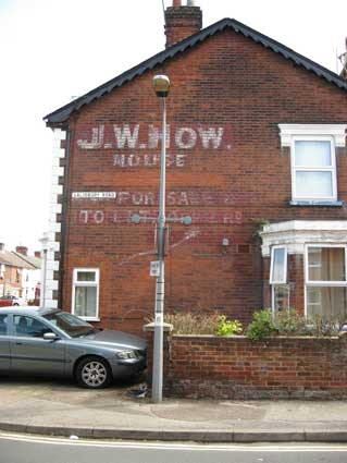 Ipswich Historic Lettering: J.W. How 1