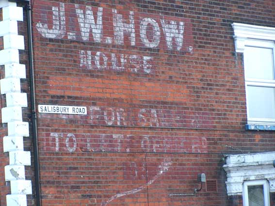 Ipswich Historic Lettering: J.W. How 4