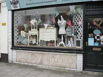 Ipswich Historic Lettering: Lymington Family Butcher 1