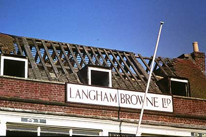Ipswich Historic Lettering: Lymington period
