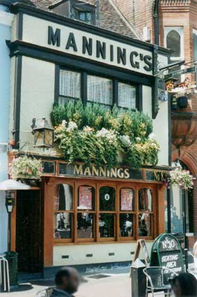 Ipswich Historic Lettering: Mannings 2001