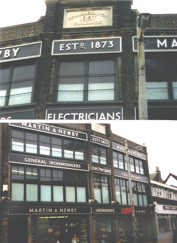 Ipswich Historic Lettering: Martin & Newby 4