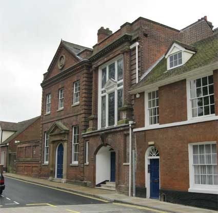 Ipswich Historic Lettering: Masonic Hall 1