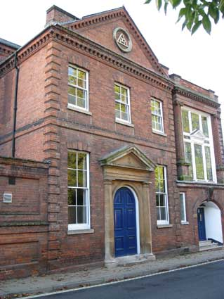 Ipswich Historic Lettering: Masonic Hall 3