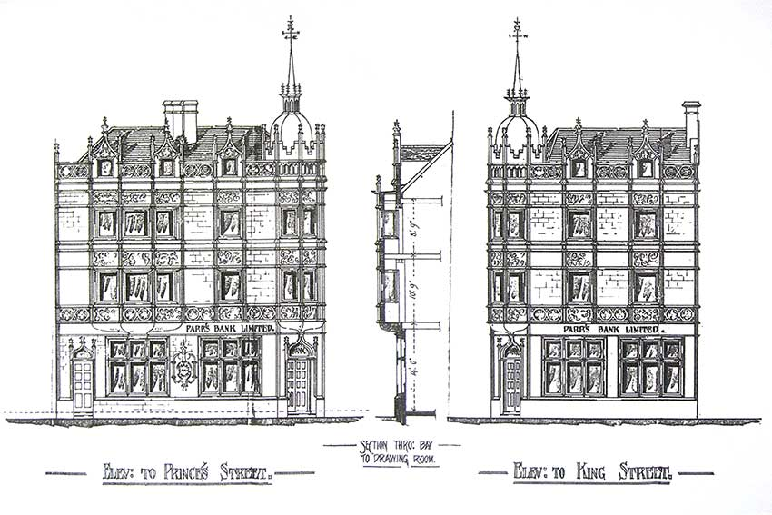 Ipswich Historic Lettering: Mutual House drawing1