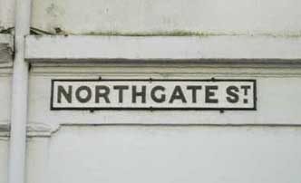 Ipswich Historic Lettering: Northgate Street 2