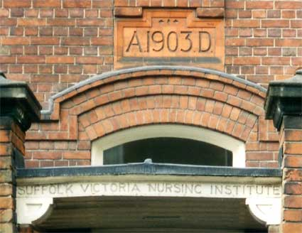 Ipswich Historic Lettering: Nursing Institute 3